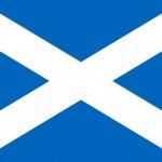 Scottish flag saltire 700