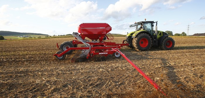 New Horsch Pronto NT expands seed drill family at Agritechnica