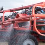 TTI nozzles working: credit Tim Scrivener