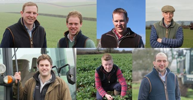 (Clockwise from top left): Tom Mead and David Hurst, Duxford; Richard Orr, Downpatrick; Richard Payne, Taunton; Mark Chandler, Petworth; Tom Rees, Pembrokshire; Rick Davies, Northampton.