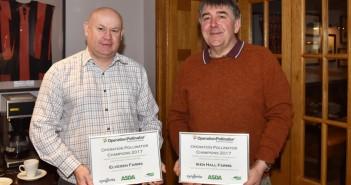 Andrew Francis and Richard Mann Green-Headlands 2017 Award-Winners