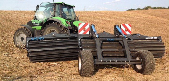 Geacut high-speed tillage implement from Spaldings tackles stubbles, slugs and cover crop vegetation