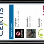 Slug Watch app 2
