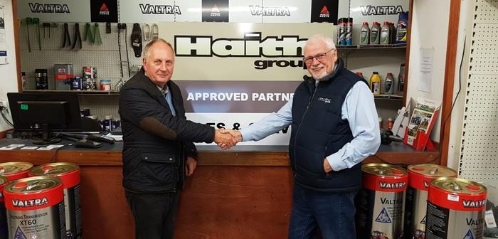 Haith partnership with Alan Mackay secures first order