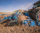Lemken launch front hopper and new coulter bar combination