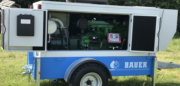 Noise Insulated Pump Sets Join Bauer S Irrigation Range