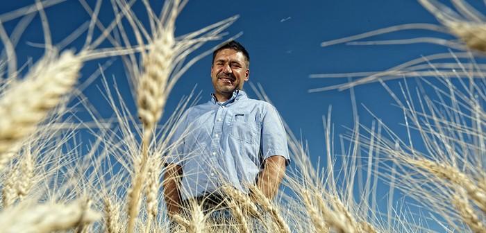 Curtis Pozniak, associate professor in the Crop Development Centre (CDC)