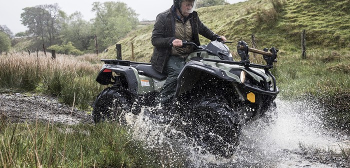 Simple safety for ATV users
