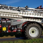 Landquip sprayer fitted with Wingssprayer system
