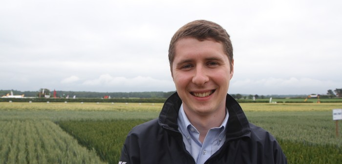 Jonathan Baxendale, Wynnstay combinable seed product manager