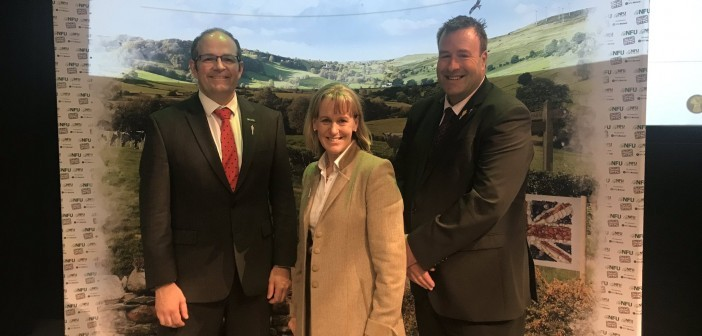 Batters re-elected as NFU president, as new face joins the team