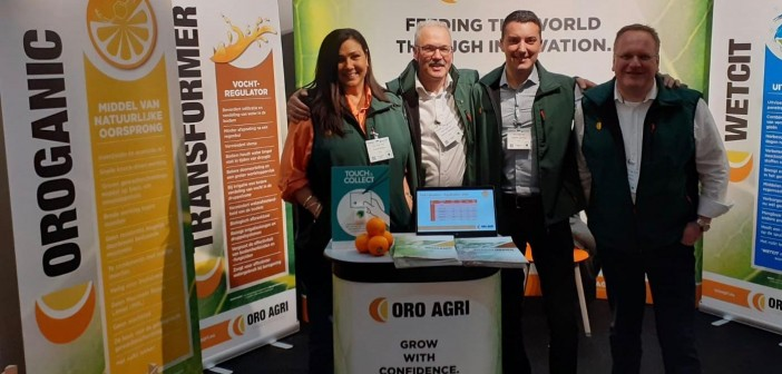 Team at launch of OROGANIC