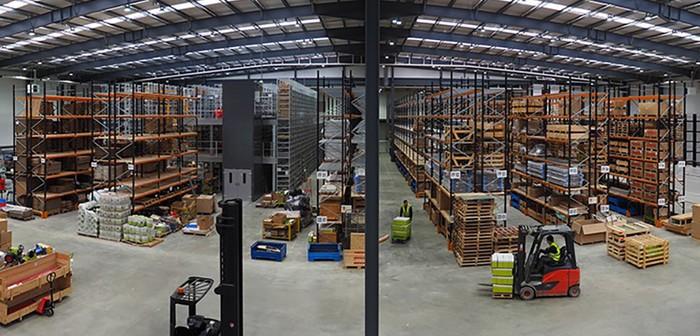 Parts Warehouse Panorama