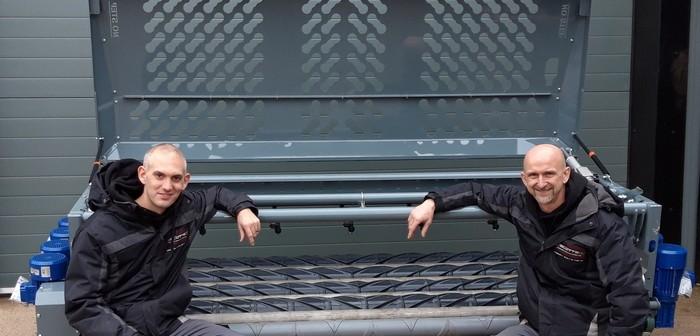 Matt Shaw and Derek Scott Directors of Scott Precision Manufacturing with an Evolution