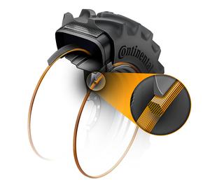 Combine tyre bead technology