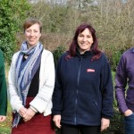 eft to right: Lucy Redmore, Technical Coordinator, LEAF; Deborah Whitfield, Consultancy Manager, HIWWT; Leah Mathias-Collins, Environment Manager, Vitacress; Ben Rushbrook, Senior Ecologist, HIWWT.
