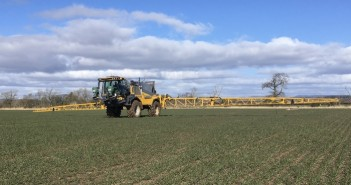 The new Chafer sprayer at Southesk Farms