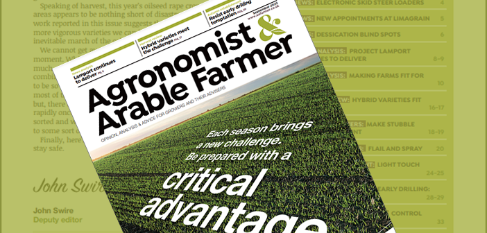 Agronomist & Arable Farmer September 2020 Digital Edition