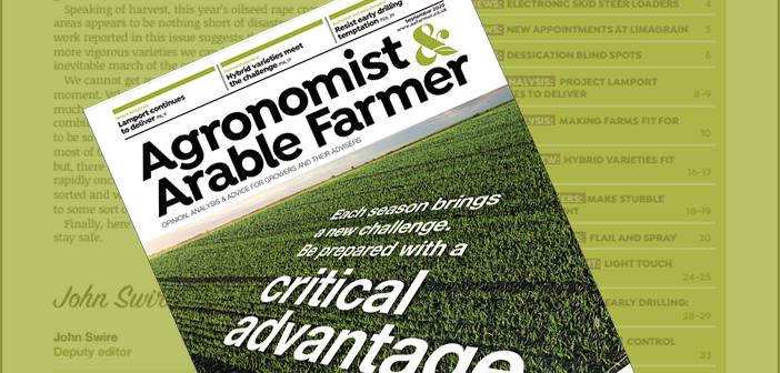 Agronomist & Arable Farmer September 2020 Digital Edition