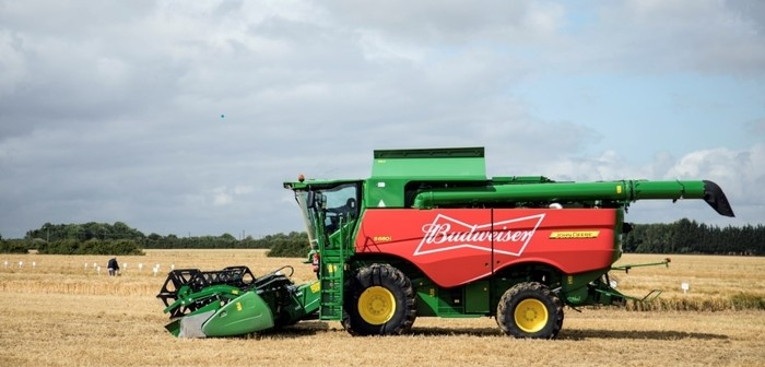 Budweiser Brewing Group now sourcing 100% of its barley from British farms for British brewed beer