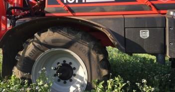 Continental VF tyres - SAM Sprayer