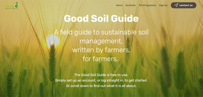 Comprehensive online soil health guide launched