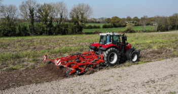 Hydraulic folding extends Enduro cultivator range