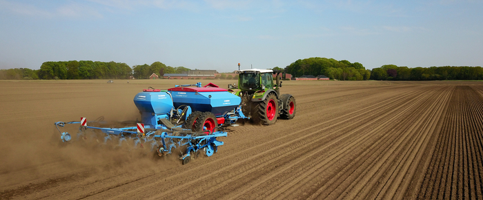 Precision drilling increases maize yields