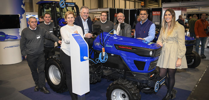 An electric first year for Farmtrac